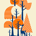 Deer Forester Poster by Budi Satria Kwan
