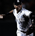 Derek Jeter Print by Paul Ward