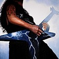 Dimebag is GD Electric Poster by Al  Molina