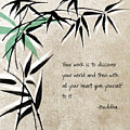 Discover Your World Print by Linda Woods
