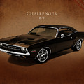 Dodge Challenger RT Poster by Mark Rogan