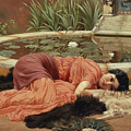 Dolce Far Niente Poster by John William Godward