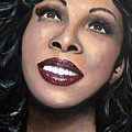 Donna Summer Poster by Tom Carlton