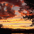 Dramatic Sunset Reflection Print by James BO  Insogna