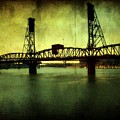 Driving over the Bridge Print by Cathie Tyler