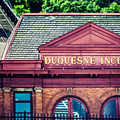 Duquesne Incline of Pittsburgh Print by Lisa Russo