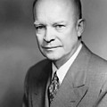 Dwight Eisenhower Print by War Is Hell Store