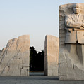 Early Morning at the Martin Luther King Jr Memorial - Washington DC Poster by Brendan Reals