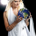 Earth Angel Poster by Cindy Singleton