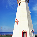 East Point Lightstation PEI Print by Thomas R Fletcher