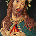 Ecce Homo or The Redeemer Print by Botticelli