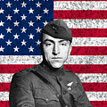 Eddie Rickenbacker and The American Flag Print by War Is Hell Store