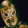 El Santo The Masked Wrestler 20130218 Poster by Wingsdomain Art and Photography