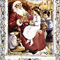 ENGLISH CHRISTMAS CARD Poster by Granger