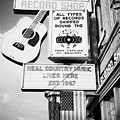ernest tubbs record shop on broadway downtown Nashville Tennessee USA Print by Joe Fox