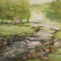 Evelyns creek Print by Becky West