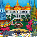 Exotic Bangkok Poster by Lisa  Lorenz