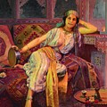 Exotic  Beauty Print by PG REPRODUCTIONS