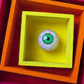 Eye In The Box Poster by Garry Gay