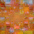 Fabric Two Poster by fania simon