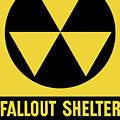 Fallout Shelter Sign Poster by War Is Hell Store