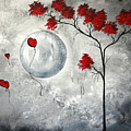Far Side of the Moon by MADART Poster by Megan Duncanson
