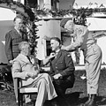 FDR Presenting Medal Of Honor To William Wilbur Poster by War Is Hell Store