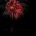 Fireworks II Print by Christopher Holmes