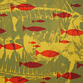 Fish for Thought Print by Chris Steinken