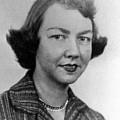 Flannery Oconnor, 1950s Print by Everett