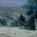 Flight into Egypt Poster by Henry Ossawa Tanner