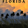 FLORIDA POSTER Print by David Lee Thompson