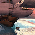 Following the navigator Print by Claude McCoy