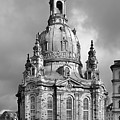 Frauenkirche Dresden - Church of Our Lady Poster by Christine Till