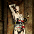 Freaks - The First Girl in the Basment Print by Luca Oleastri