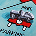 Free Parking Poster by Herschel Fall