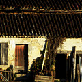 French Shed at Sunset Print by Marion McCristall