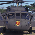 Front View Of An Army Hh-60 Pave Hawk Print by Michael Wood