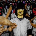 Furies up to Bat Print by Al  Molina