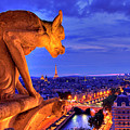 Gargoyle De Paris by traumlichtfabrik