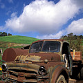 Garrod's Old Truck Poster by Kathy Yates