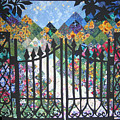 Gate into the Garden Poster by Sarah Hornsby