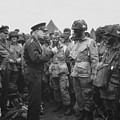 General Eisenhower on D-Day  Print by War Is Hell Store