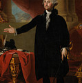 George Washington Lansdowne Portrait Print by War Is Hell Store