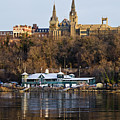 Georgetown University waterfront  Print by Brendan Reals