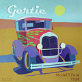 Gertie Model T Print by Evie Cook