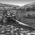GHOST WAGONS of BANNACK MONTANA Print by Daniel Hagerman