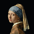 Girl with a Pearl Earring Poster by Jan Vermeer