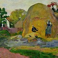 Golden Harvest Poster by Paul Gauguin