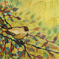 Goldfinch Waiting Poster by Jennifer Lommers